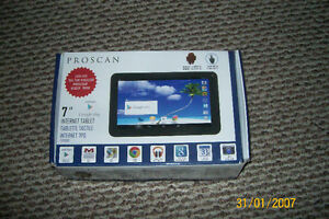 LIKE NEW: PROSCAN 7 INCH INTERNET TABLET