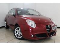 2011 60 ALFA ROMEO MITO 1.4 LUSSO 16V 3DR 95 BHP