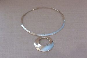 sterling silver solid neckpieces