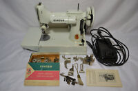 Vintage 1964 Singer Featherweight 221K Portable Sewing Machine