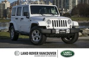 2015 Jeep Wrangler Unlimited Sahara *One Owner - No Accidents!