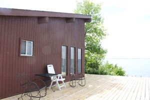 FOR RENT-Unique 3 bdrm Cabin at Jackfish with amazing view!
