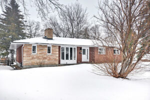 Bungalow with In-Law Suite For Sale in Barrhaven