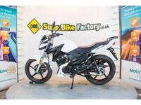 2017 67 LEXMOTO ASPIRE 125 WHITE EFI 125CC 0% DEPOSIT FINANCE AVAILABLE