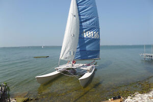 HOBIE CAT 16 WITH TRAILER