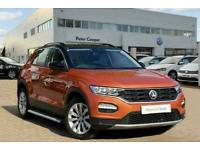 2018 Volkswagen T-ROC (2017) 1.0 TSI SE 115PS Hatchback Petrol Manual