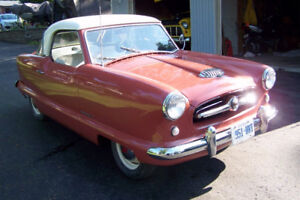 1955 NASH METROP0LITAN  RESTORED BEAUTY..