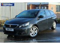 2018 Peugeot 308 SW 1.6 BlueHDi Active (s/s) 5dr Estate Diesel Manual