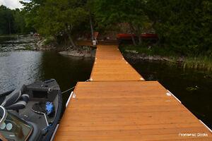 52' cedar floating wooden dock system Kingston Kingston Area image 9