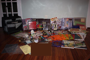 HUGE Collection of Scrapbooking Supplies FOR SALE Kitchener / Waterloo Kitchener Area image 1
