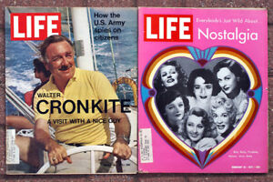 Lot of 25 LIFE Magazines from 1971