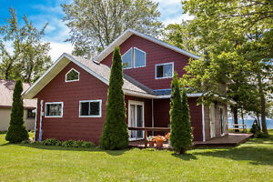 Waterfront Cottage Estate for sale on Beautiful Pelee Island!