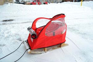 Pelican Sleigh with top (sled / Toboggan)