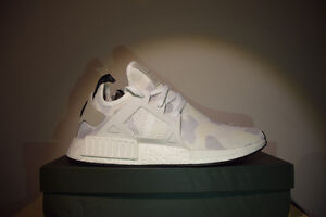 "Adidas NMD XR1 ""white duck camo"" size 12"