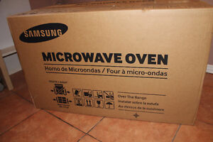Unopened Samsung Microwave Oven!!!