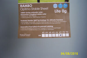 NEW RAMBO STABLE SHEET Edmonton Edmonton Area image 2