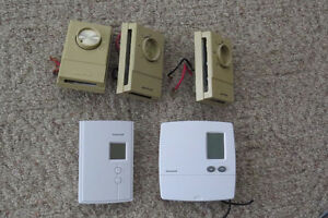 Electric baseboard thermostat's