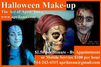 Halloween Face Painting & Professional Make-up