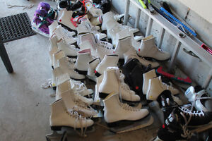 Figure Skates girls and women's sizes. lots available