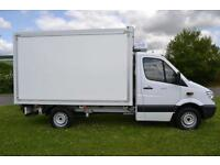 2011 Mercedes benz Sprinter 3.5t Chassis Cab Hubbard Fridge Van 4 door Refrid...