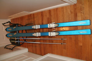 Skies, bindings and polls.  Excellent condition 65 inches long