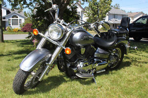 2003 V-Star 1100 Silver Classic Motorcycle