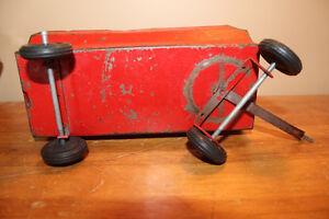 Vintage Tin Toy Farm Wagon - Massey Ferguson London Ontario image 7