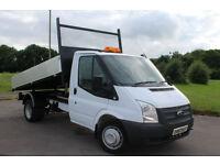 Ford Transit 2.2TDCi ( 100PS ) ( EU5 ) 350 MWB Tipper 12 Reg £12,495+VAT