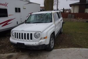 2016 Jeep Patriot DAMAGED AS IS