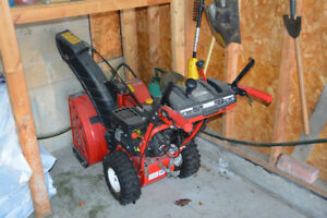 Troy-Bilt 24-inch 2-Stage Electric Start Gas-Powered Snow Blower