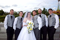 Professional Wedding Service: Photo + Video Package at $1200.
