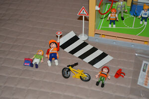 Playmobil School, Gym & Crossing Guard Kingston Kingston Area image 4