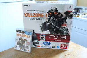 PS3 PlayStation 3 160 GB console system in box COMPLETE
