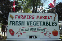 WE'RE BACK MISSISSAUGA'S FARM FRESH MARKET OPENS JULY 17TH!
