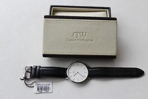 DANIEL WELLINGTON Dapper Sheffield 38mm Leather Watch