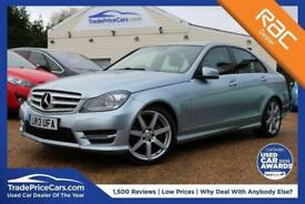 2013 13 MERCEDES-BENZ C CLASS 2.1 C250 CDI BLUEEFFICIENCY AMG SPORT PLUS 4D AUTO