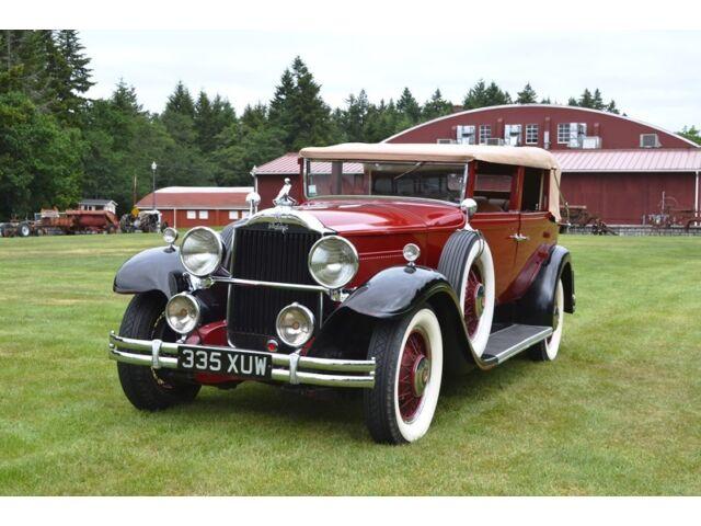 Packard : Other 833 Five Pas 1931 Packard Standard Eight 833 Five Passenger Convertible Sedan Ex Brown Collec