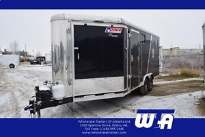 2016 Pace American 8.5 X 24' PACE AMERICAN HEATED SLED TRAILER