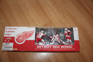 Detroit Red Wings Deluxe 3 pack