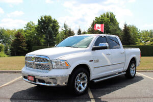 2015 Ram 1500 Larmie Diesel Loaded**Air Ride Suspension**Navi**