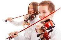 Cours ensembles de violons pour enfants et adultes à Brossard!