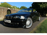 Alpina B3 3.3 Convertible Hardtop FSH + IMMACULATE + RARE + CREAM LEATHER