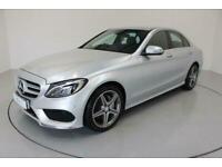 2014 Mercedes-Benz C-CLASS 2.1 C220 BLUETEC AMG LINE 4d-2 OWNER CAR-20 ROAD TAX-