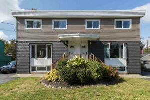 --Available Immediately--3 bed/1 1/2 bath duplex, South End Hfx