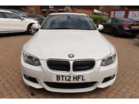 2012 12 BMW 3 SERIES 3.0 335D M SPORT 2D AUTO 282 BHP DIESEL