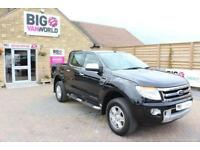 2015 FORD RANGER TDCI 200 LIMITED 4X4 DOUBLE CAB PICK UP DIESEL