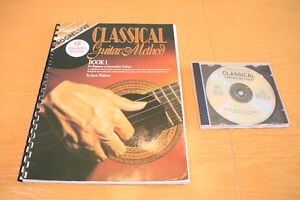 Guitar Lessons for Classical Guitar. 7 Books and 7 CDs.