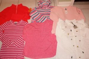 GIRLS SIZE 12 14 SWEATER, HOODIE, TOPS LONG SLEEVE CLOTHING