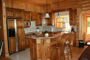 Chalet to rent in the Laurentiens valley - St Sauveur  Log house Cornwall Ontario image 2