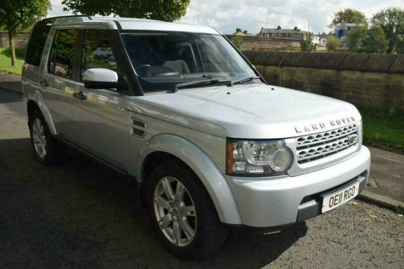 2011 11 LAND ROVER DISCOVERY 3.0 4 SDV6 GS  5D 245 BHP DIESEL
